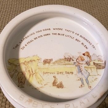 Baby Plate - China and Dinnerware