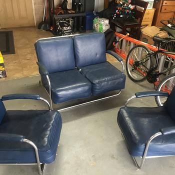 Chrome Furniture Set