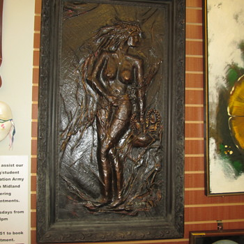 Leather Artwork Nudes - Fine Art