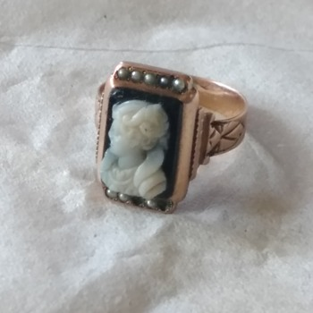 Revision to my Cameo Ring - Victorian Era