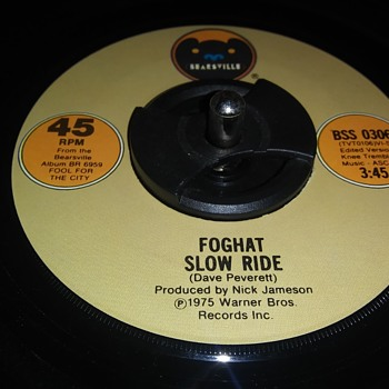 45 RPM SINGLE....#33 - Records