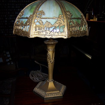 Grandparents lamp