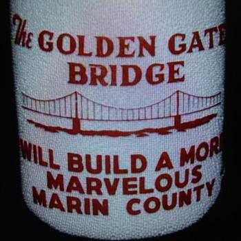 MARIN COUNTY MILK CO. (CALIFORNIA) QUART CREAMTOP MILK BOTLE - Bottles