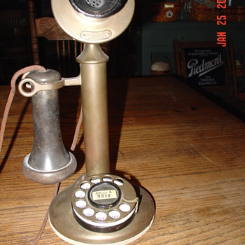 1915 Western Electric Candlestick Phone - Telephones