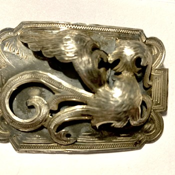 Silver brooch  - Silver