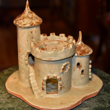 Pottery Castle by Peg Wright - 1972 - Pottery