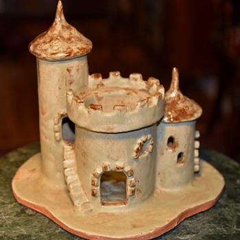 Pottery Castle by Peg Wright - 1972 - Pottery