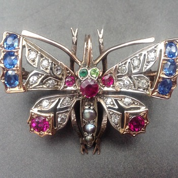 Victorian antique brooch - Fine Jewelry