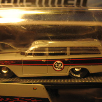My favorite paint scheme 62 Biscayne wagon - Model Cars