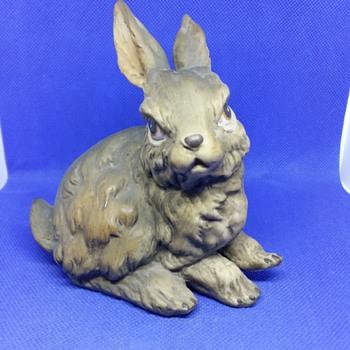 Beautiful porcelain rabbit - Animals