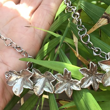 Jane Watling Silver Necklace. - Fine Jewelry