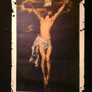 """""""Jesus on cross"""" by Anton Van Dyck - Print"""