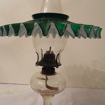 Waverly Oil Lamp - Lamps