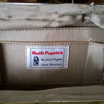 Vintage Hush Puppies Pigskin Handbag Flea Market Find $1.00 - Accessories