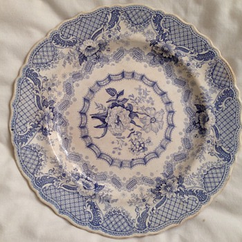 Two plates I've cherished for years..but don't know much about - China and Dinnerware