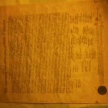 Certified facsimile of declaration of independence  - Paper