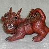 Chinese Clay Foo Dog Figurine