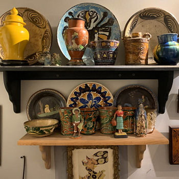 a few vignettes in my house...