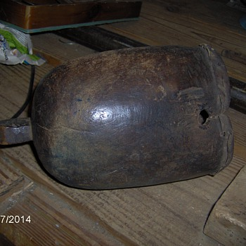 Antique African Drum Very Old