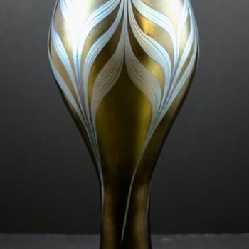 Loetz Braun Phänomen Genre 7801, PN I-7792, ca. 1900 - Art Glass