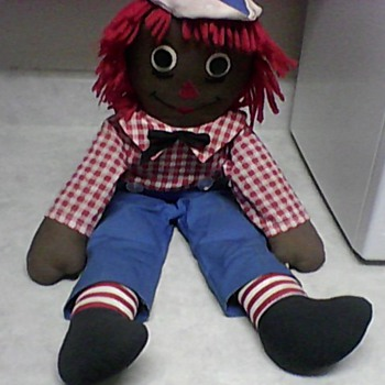 BLACK RAGGEDY ANDY DOLL - Dolls