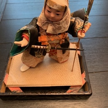 Japanese monk doll - Dolls