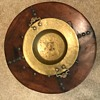 Round Table with Metal Bowl Insert