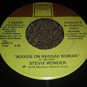 Stevie Wonder...On 45 RPM Vinyl - Records