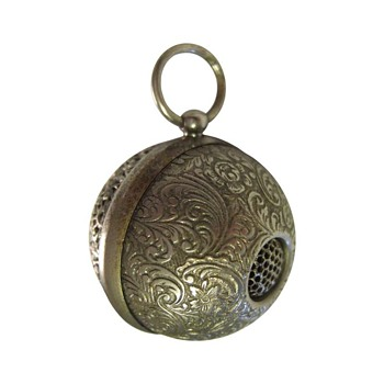 Filigree siren sphere whistle/pendant. - Tools and Hardware