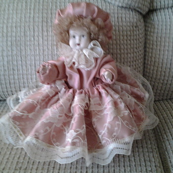 All porcelain doll