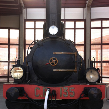 First Steam Locomotives used in Portugal (National Railway Museum) - Railroadiana