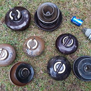 more ceramic powerline insulators - Tools and Hardware
