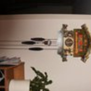 """""""Eloper"""" german cookoo clock, works. I believe its also known as """"farmers daughter"""" - Clocks"""