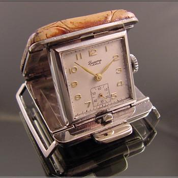 Belt Worn Golfer's Watch Swiss-Made Lucerne  - Pocket Watches