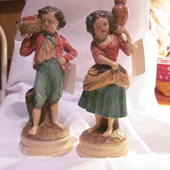 BORGHESE FIGURINES - Pottery