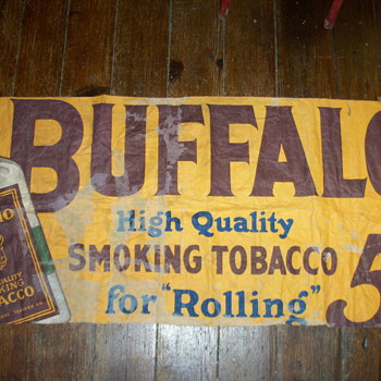 Tobacco  advertising  5 cent - Signs