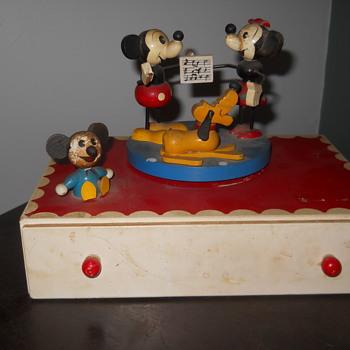 Disney Music Box - Music Memorabilia