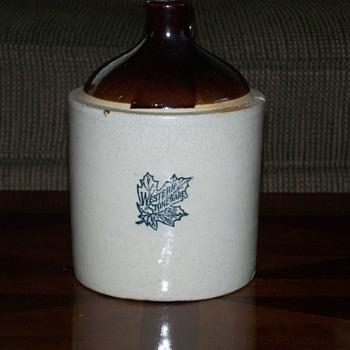 Western Stoneware Gallon Jug - China and Dinnerware