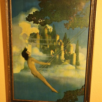 Dinky Bird by Maxfield Parrish