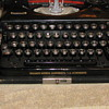 German Triumph Werke Nurnberg typewriter with Rune key