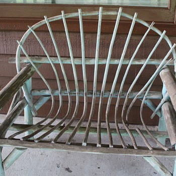 Old porch furniture - Furniture