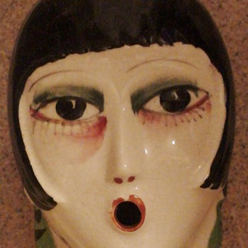 Porcelain Flapper Made In Japan Louise Brooks (?)