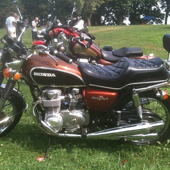 1972 Honda CB500 four - Motorcycles