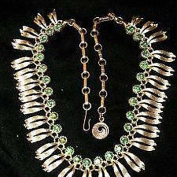 Listner necklace - Costume Jewelry