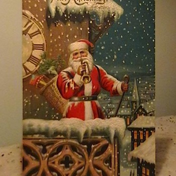 Early 1900's Christmas Postcards  - Postcards