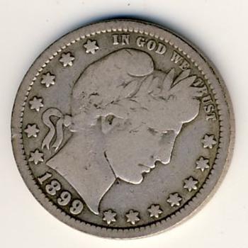 U.S. Barber Quarter (1899) - US Coins