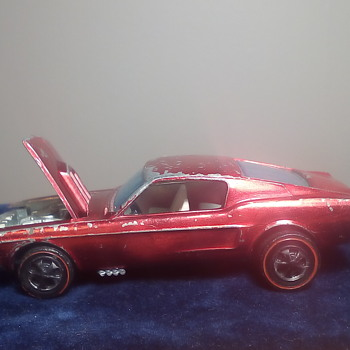 67 Mustang - Model Cars