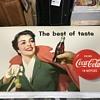 Coca Cola cardboard insert 1956
