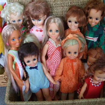 My Small But Growing Collection of Chrissy,  Her Family and Friends! - Dolls