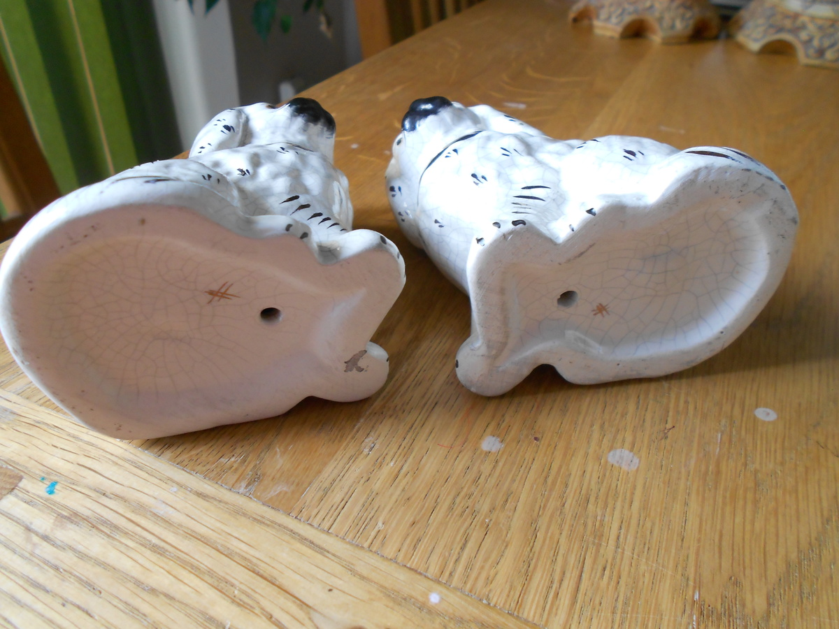 Antique China Dog Ornaments. | Collectors Weekly